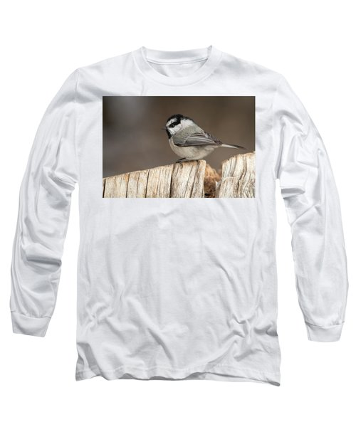 Mountain Chickadee Long Sleeve T-Shirt