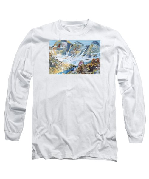 Mountain Done With Knife Long Sleeve T-Shirt