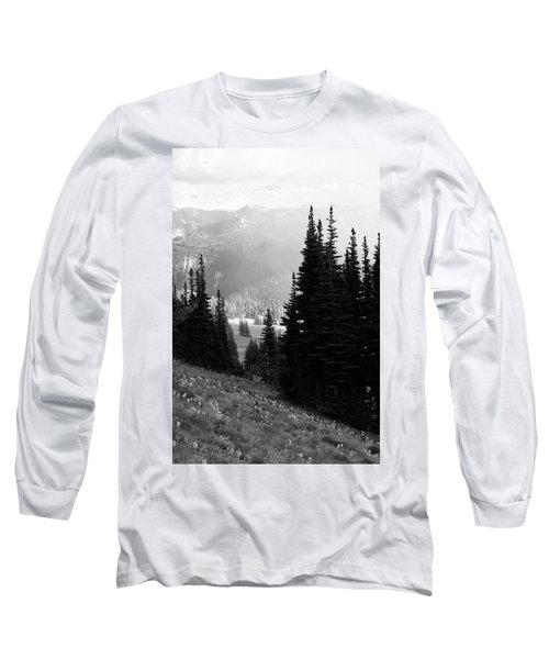 Mountain Flowers Long Sleeve T-Shirt
