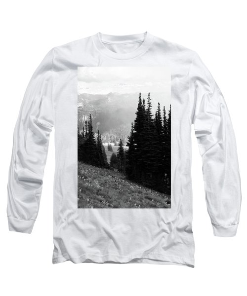 Mountain Flowers Long Sleeve T-Shirt