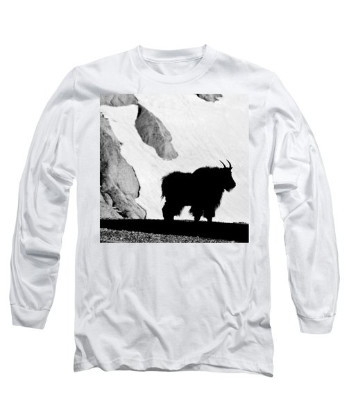 Mountain Goat Shadow Long Sleeve T-Shirt
