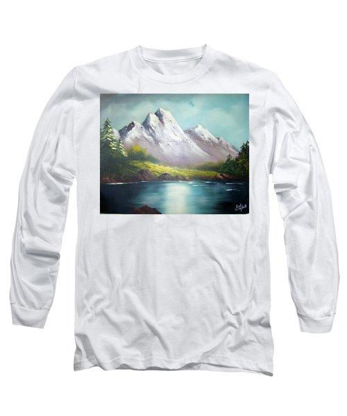 Mountain Lake Long Sleeve T-Shirt
