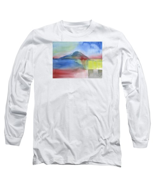 Long Sleeve T-Shirt featuring the painting Just Before The Rain by Frank Bright