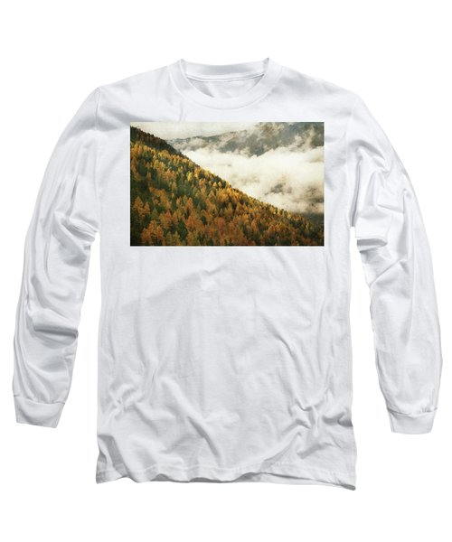Mountain Landscape Long Sleeve T-Shirt