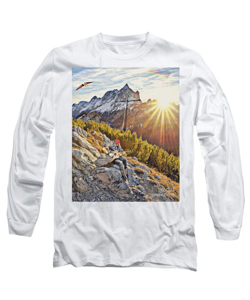 Mountain Of The Lord Long Sleeve T-Shirt