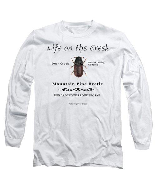 Mountain Pine Beetle Color Long Sleeve T-Shirt