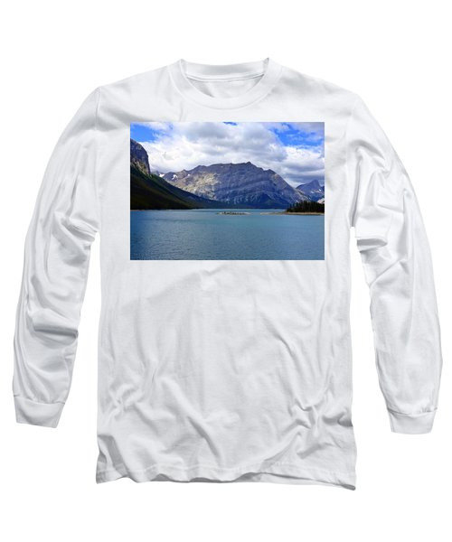 Upper Kananaskis Lake Long Sleeve T-Shirt by Heather Vopni