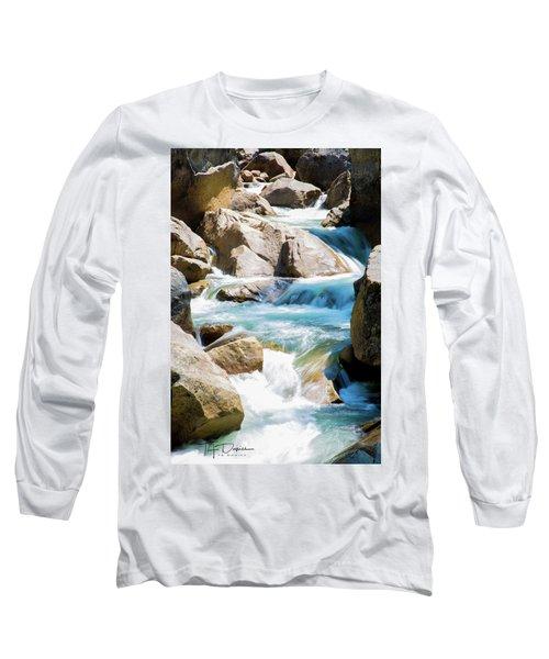 Mountain Spring Water Long Sleeve T-Shirt