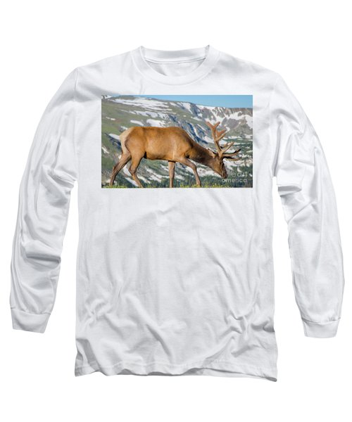Mountain Top Elk Long Sleeve T-Shirt
