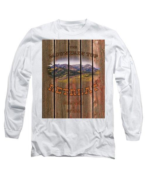 Mountain Top Retreat Long Sleeve T-Shirt