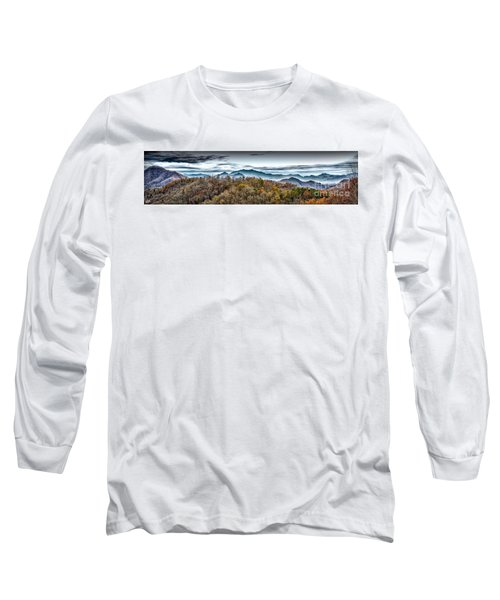 Long Sleeve T-Shirt featuring the photograph Mountains 2 by Walt Foegelle