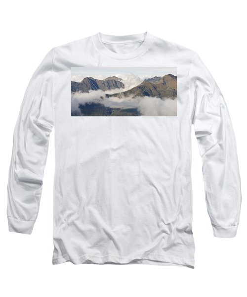Mountains And Cloud Long Sleeve T-Shirt