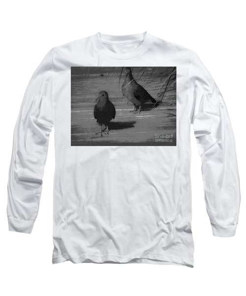Mr And Mrs Dove Long Sleeve T-Shirt