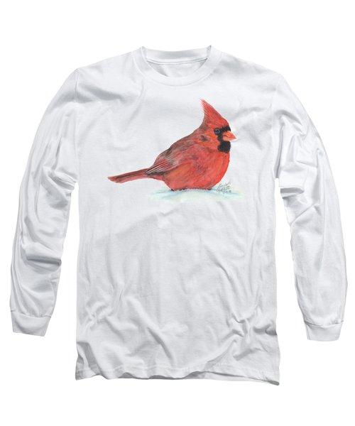Mr Cardinal Long Sleeve T-Shirt