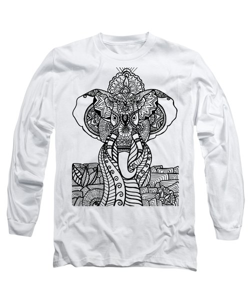 Mr. Elephante Long Sleeve T-Shirt