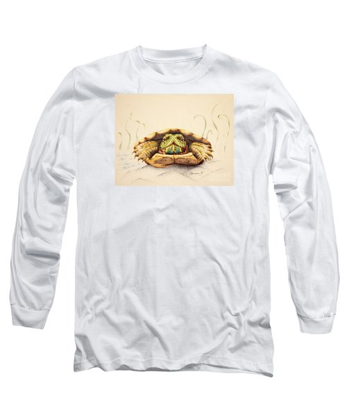 Mr. Flo Long Sleeve T-Shirt by Katharina Filus