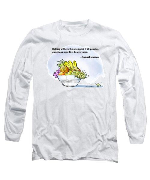 Mr. Grape And Dr. Johnson Long Sleeve T-Shirt
