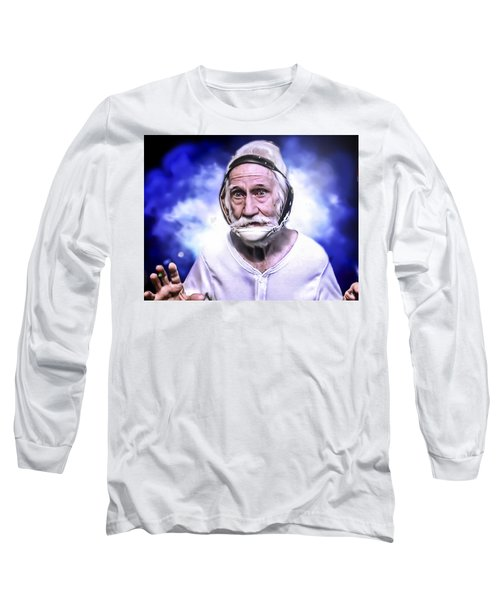 Mr. Joseph Blue Pulaski Long Sleeve T-Shirt