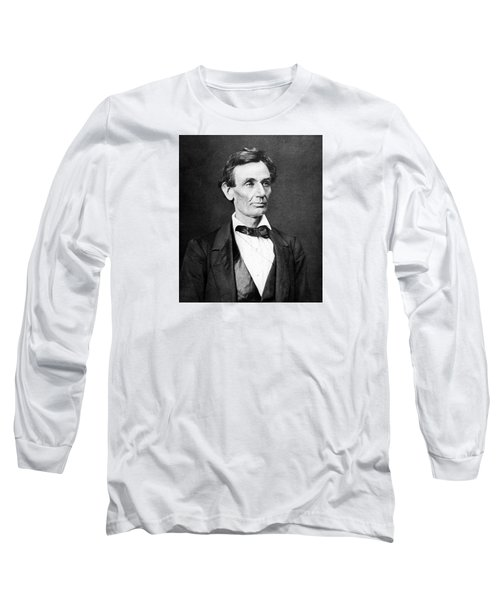 Mr. Lincoln Long Sleeve T-Shirt