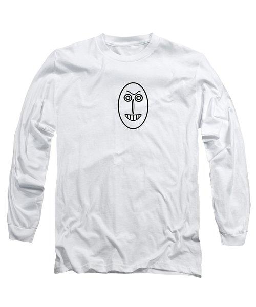 Mr Mf Has A False Smile Long Sleeve T-Shirt