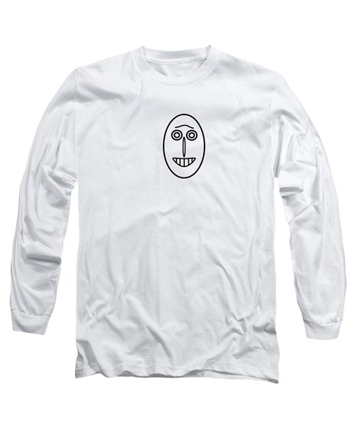 Mr Mf Has A Smile Long Sleeve T-Shirt