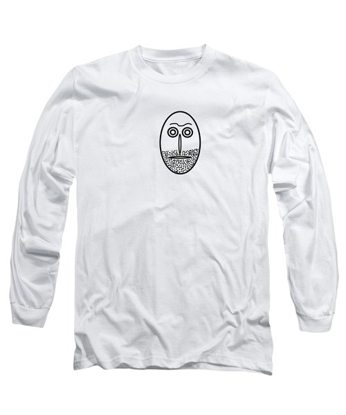 Mr. Mf Is An Unshaved Macho Long Sleeve T-Shirt