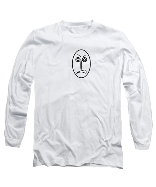 Mr Mf Is Very Angry Long Sleeve T-Shirt