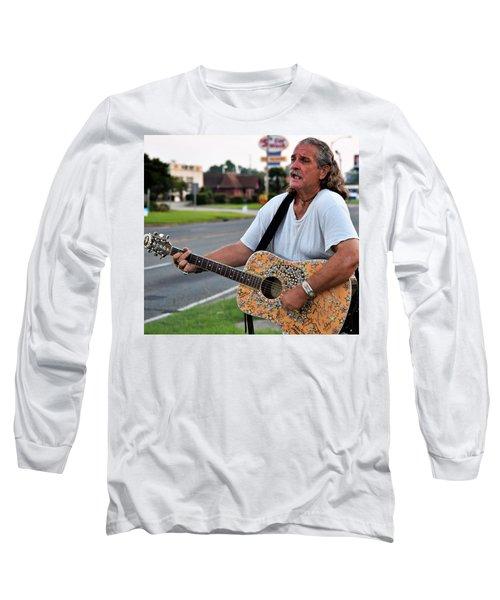 Mr. Terry Benoit Long Sleeve T-Shirt by John Glass