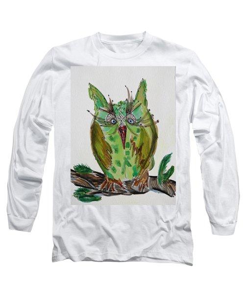 Mr.lime Owl Long Sleeve T-Shirt