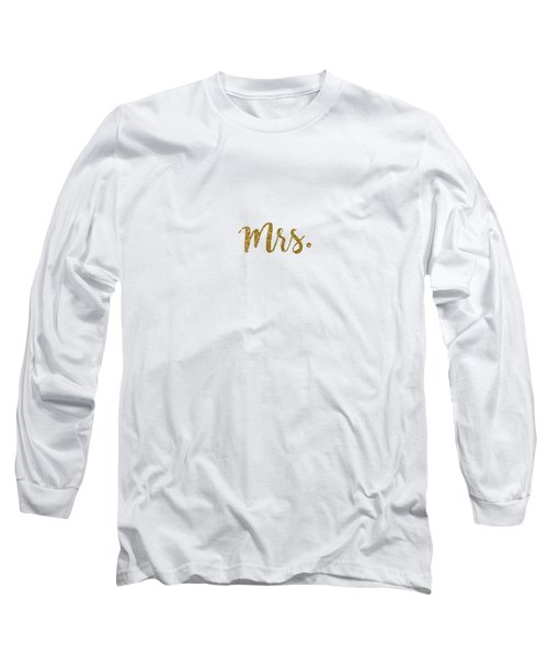 Mrs. Long Sleeve T-Shirt by Cortney Herron