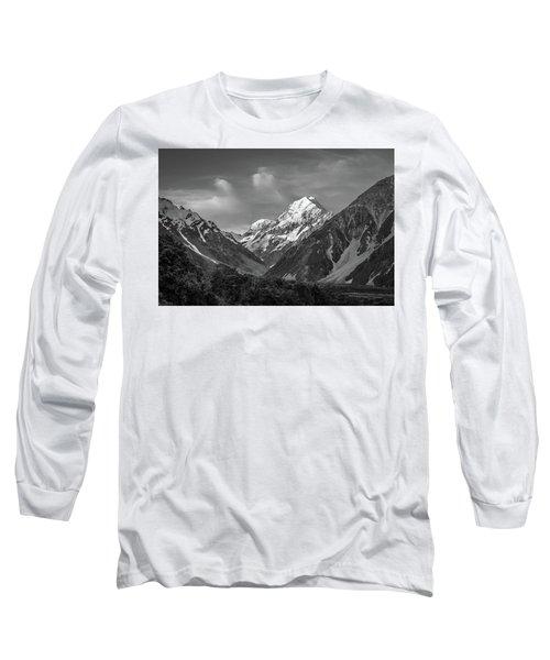 Mt Cook Wilderness Long Sleeve T-Shirt