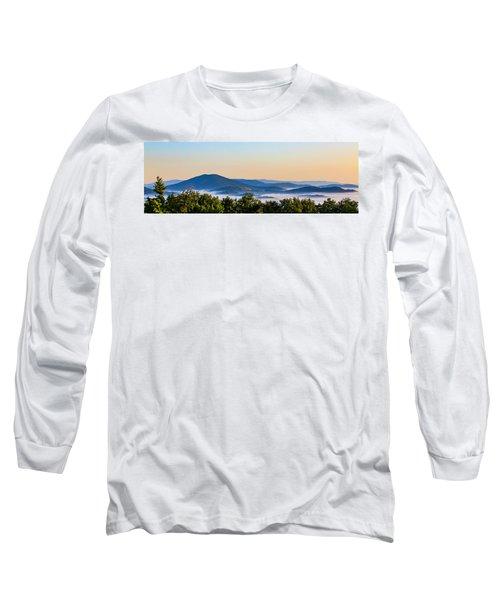 Mt. Jefferson Cloud Lake Long Sleeve T-Shirt