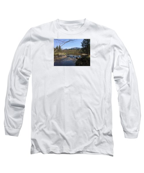 Mt. Katahdin Long Sleeve T-Shirt by Robin Regan