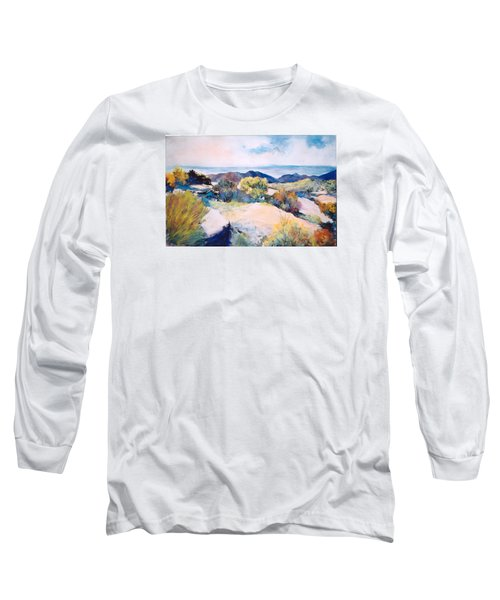 Long Sleeve T-Shirt featuring the painting Mt Lemmon View by M Diane Bonaparte