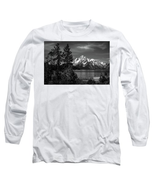 Mt. Moran And Trees Long Sleeve T-Shirt