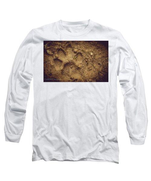 Muddy Pup Long Sleeve T-Shirt by Stefanie Silva