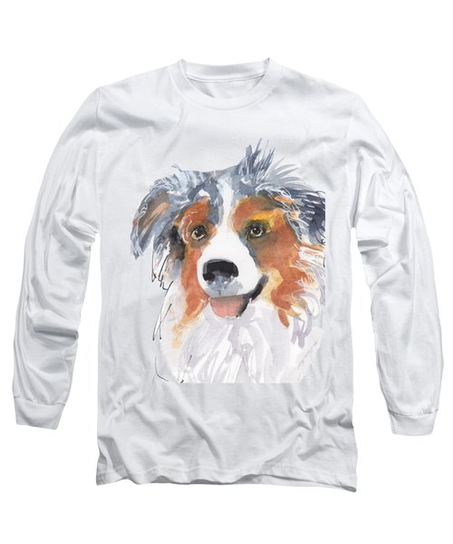 Multi Colored By Kathleen Mcelwaine Long Sleeve T-Shirt