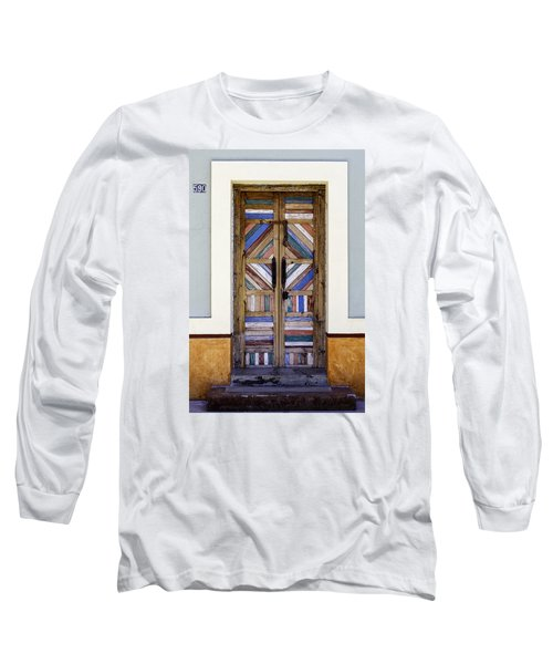 Multicolored Door Long Sleeve T-Shirt