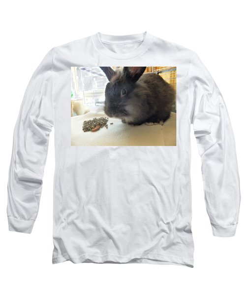 Long Sleeve T-Shirt featuring the photograph Munchkin by Denise Fulmer
