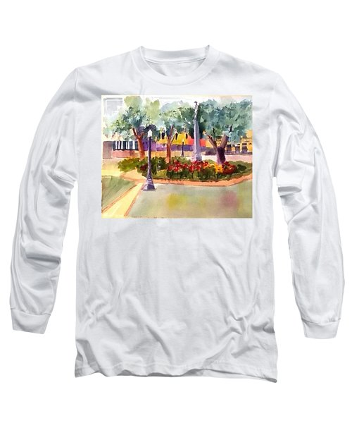 Munn Park, Lakeland, Fl Long Sleeve T-Shirt by Larry Hamilton
