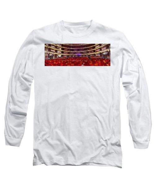 Murrel Kauffman Theater Long Sleeve T-Shirt by Jim Mathis