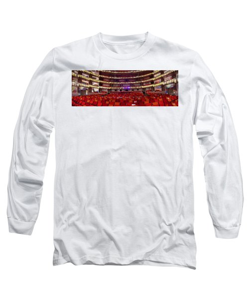 Long Sleeve T-Shirt featuring the photograph Murrel Kauffman Theater by Jim Mathis