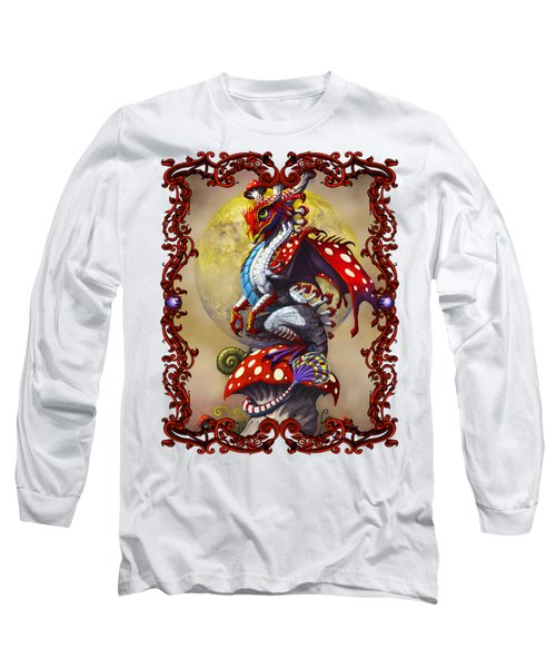 Mushroom Dragon T-shirts Long Sleeve T-Shirt