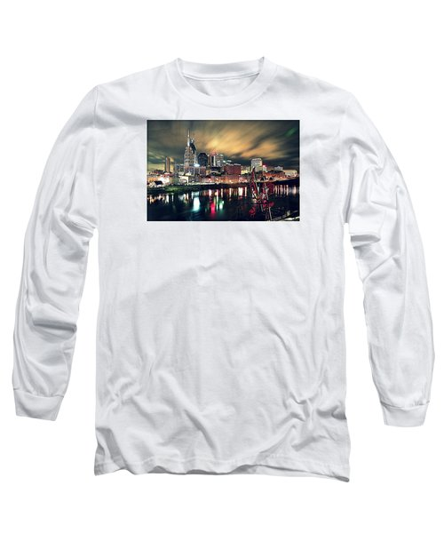 Music City Midnight Long Sleeve T-Shirt by Matt Helm