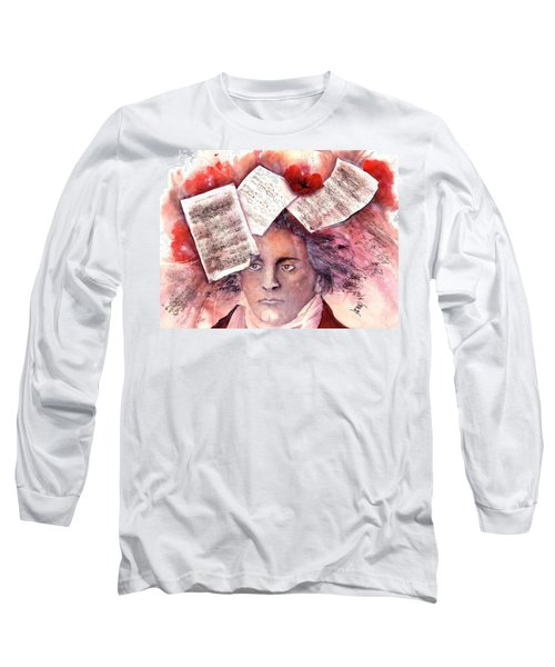 Beethoven - Music On My Mind  Long Sleeve T-Shirt