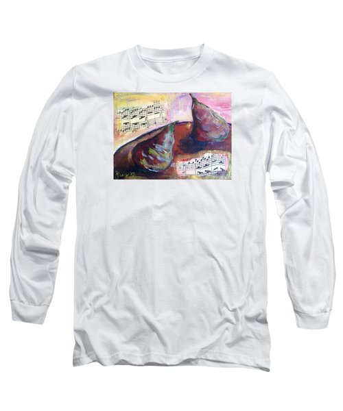 Musical Pears Long Sleeve T-Shirt by Roxy Rich
