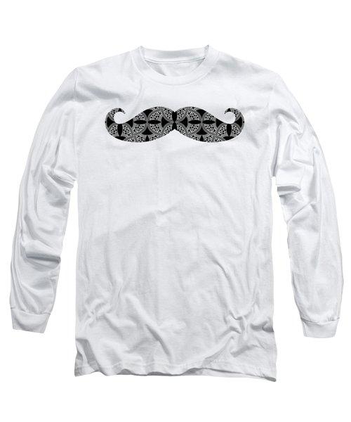 Mustache Tee Long Sleeve T-Shirt