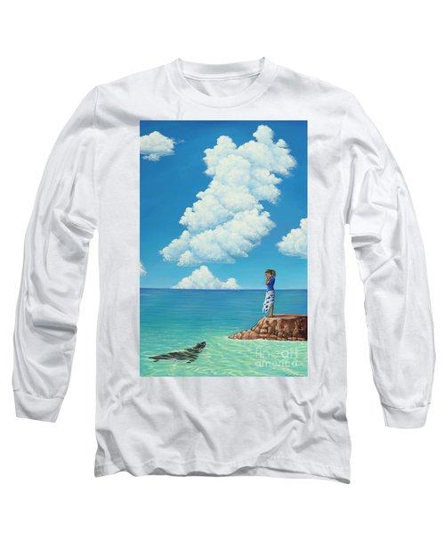 Mutual Curiosity Long Sleeve T-Shirt