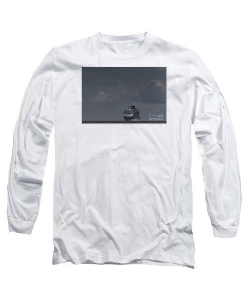 Mv Britannia Long Sleeve T-Shirt by David  Hollingworth