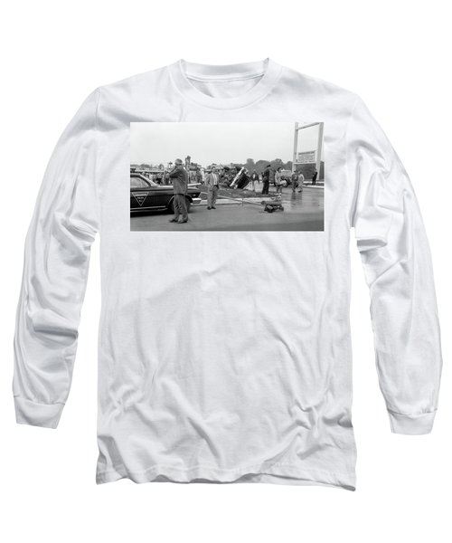 Mva At Shopping Center Long Sleeve T-Shirt